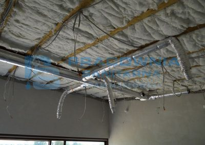 Projekt i montaż wentylacji mechanicznej - Kanały stalowe SPIRO z izolacją