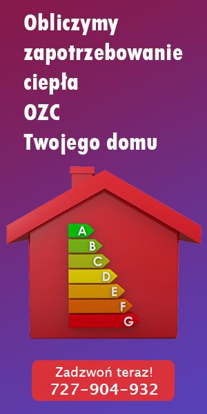 Obliczenie Zapotrzebowania Cieplnego (OZC)